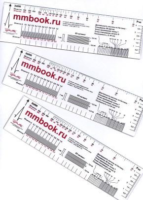 ЭКГ линейка (Линейка измерительная электрокардиографическая)